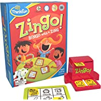 ThinkFun Zingo Bingo Award Winning Preschool Game for Pre-Readers and Early Readers Age 4 and Up - One of the Most Popular Board Games for Boys and Girls and their Parents