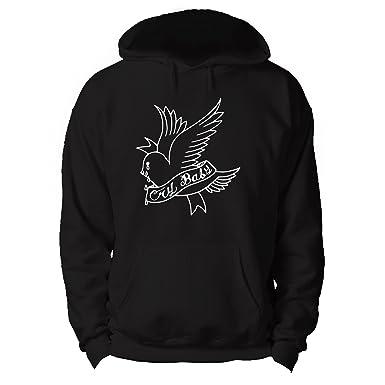 c1b28c418b18 RoyalTeesUK Mens Hoodie Lil Peep Cry Baby  Amazon.co.uk  Clothing
