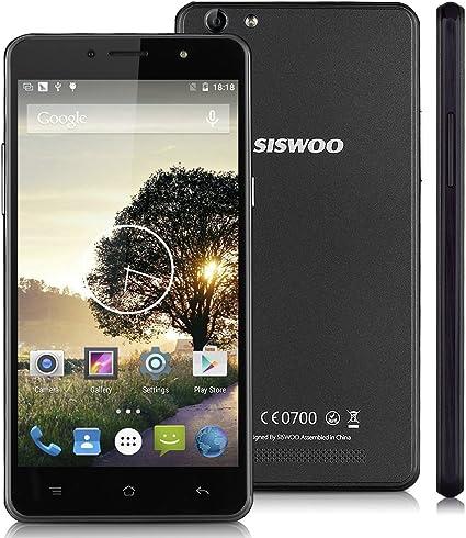 Siswoo C55 - Smartphone Móvil Andriod LTE 4G (64 bits, Pantalla ...