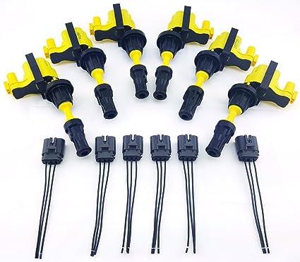amazon com 90 96 fairladyz 300zx ignition coil packs Vg30dett Wire Harness efi engine wiring harness