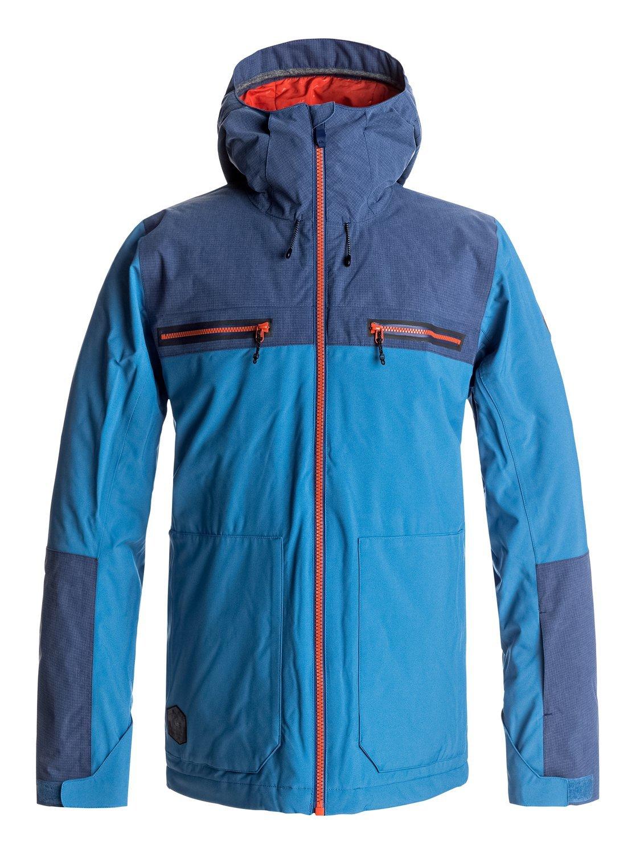ARROW WOOD JK Quiksilver EQYTJ03118 QISS5 Men Quiksilver Mens JK Arrow Wood Snow Jacket