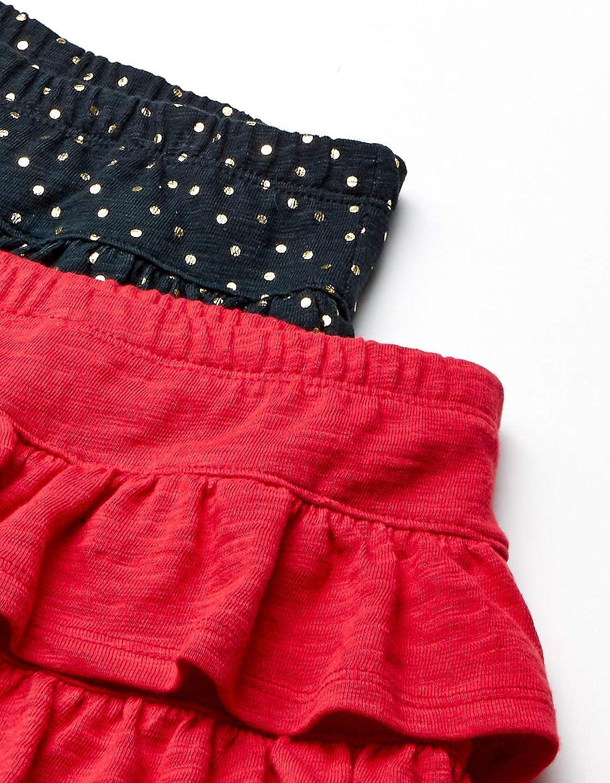 Brand Spotted Zebra Girls 2-Pack Knit Ruffle Scooter Skirts