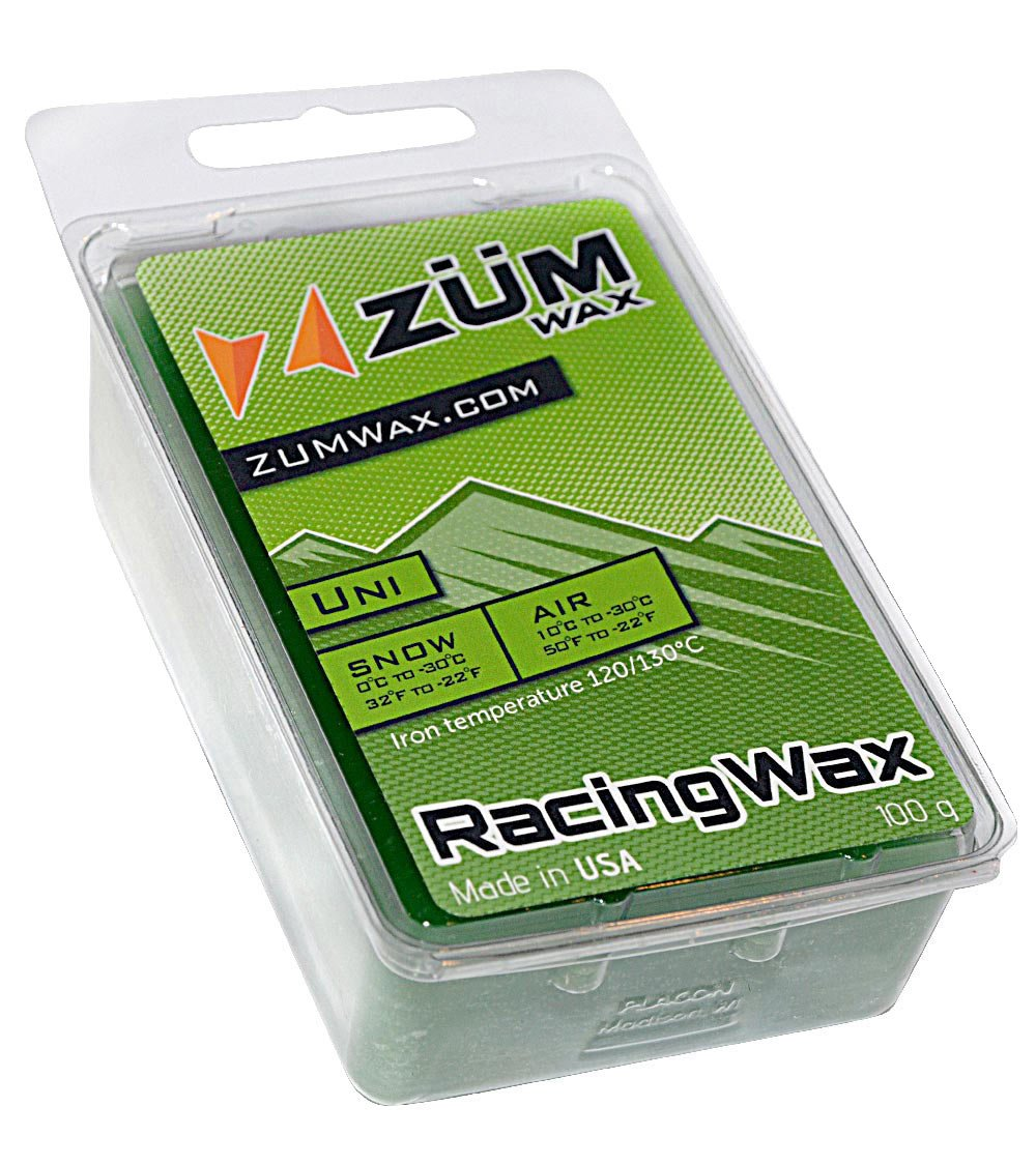 ZUMWax Ski/Snowboard RACING WAX - Universal - 100 gram - INCREDIBLY FAST in ALL Temperatures !!! by ZUMWax
