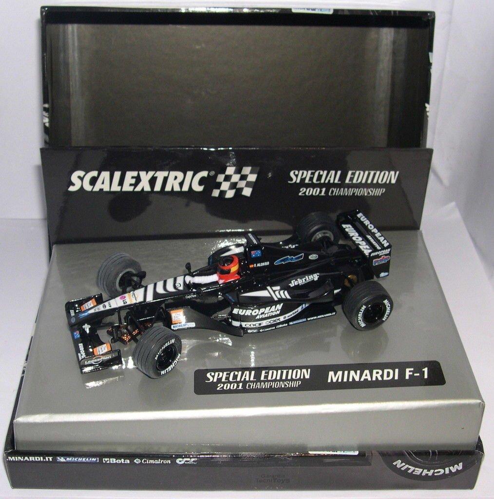 Scalextric 6194 Minardi F1 2001 Alonso Edici/ón Especial
