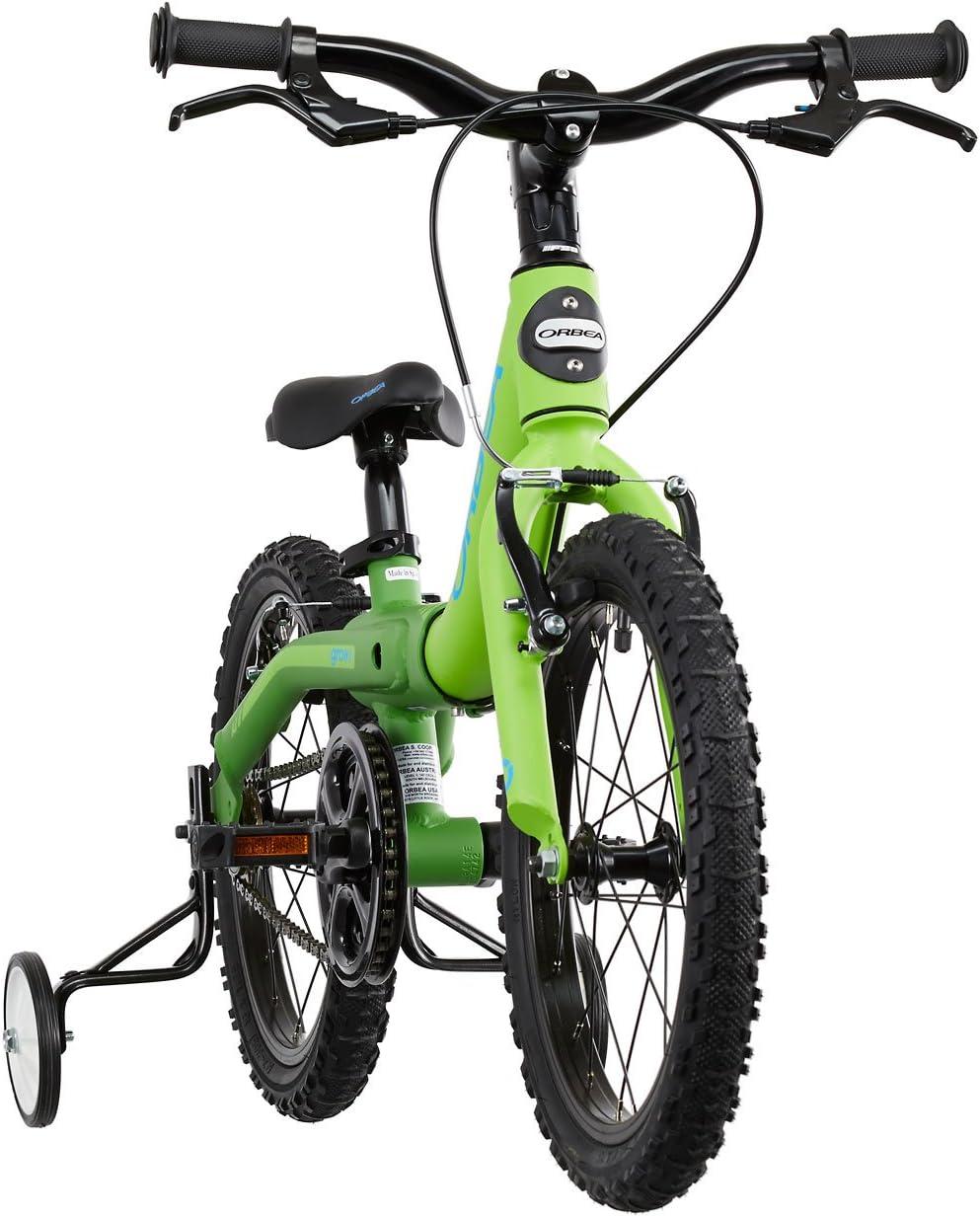 Bicicleta para niños ORBEA Grow 1 16 pulgadas verde 2015: Amazon ...