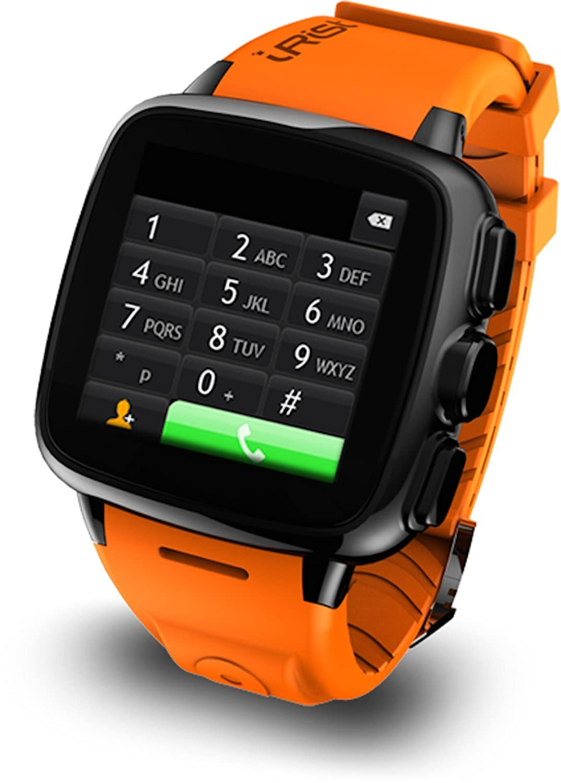 Intex Irist Smart Watchblack Orange Straps With Black Dial Sim Card Data 8 Hari 4gb Days Japan Travel Dialswir4org Computers Accessories