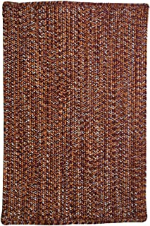 product image for Capel Rugs Team Spirit Area Rug, 5' x 8', Maroon Burnt Orange