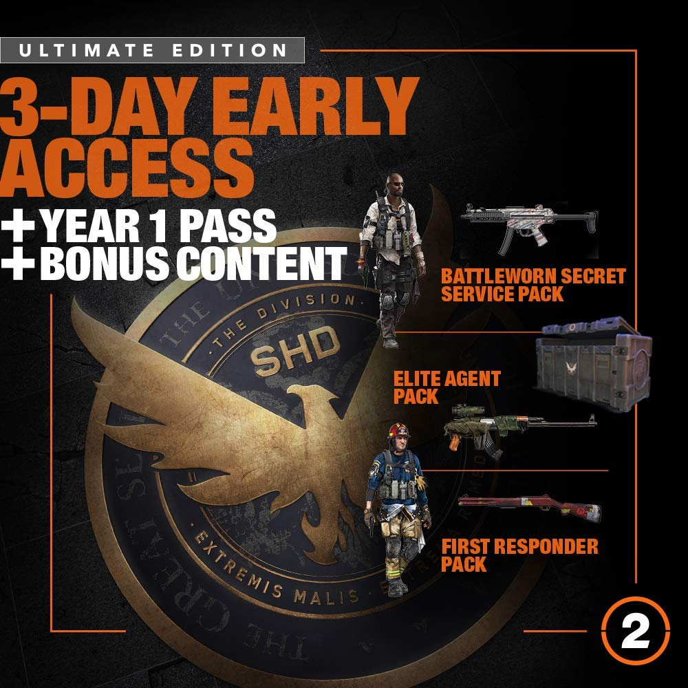 Tom Clancy's The Division 2 Ultimate Edition - XB1 [Digital Code] by Ubisoft (Image #2)