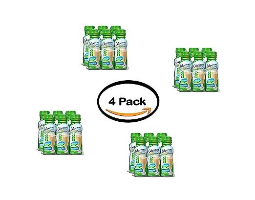 Glucerna Hunger Smart Shake - Juego de 4 vasos para ayudar a ...