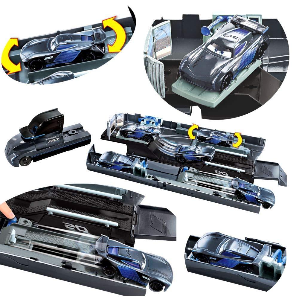 Disney Pixar Cars 3 - Jackson Storm Camión Supertransformación & Cast Vehículo: Amazon.es: Juguetes y juegos