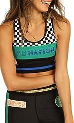 dea55879c9 P.E NATION Women s Ball Rolling Sports Bra