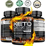 Keto BHB Capsules - 240 Max Strength Capsules - 3,200mg of Beta Hydroxybutyrate Complex Per Serving - Potent, Fast Acting Exogenous Ketones Supplement for Weight Loss, Rapid Ketosis, Fat Burn