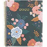"""2022 Weekly & Monthly Planner by Mead, 8-1/2"""" x 11"""", Large, Customizable, Caprice, Navy Floral (1319N-901)"""