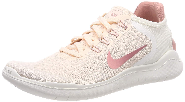 MultiCouleure (Guava Ice Rust rose Sail rose Tint 802) Nike WMNS Free RN 2018, Chaussures de Running Compétition Femme 36 EU