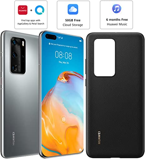 Huawei P40 Pro (5G) ELS-NX9 Dual/Hybrid-SIM 256 GB (sólo GSM | No ...