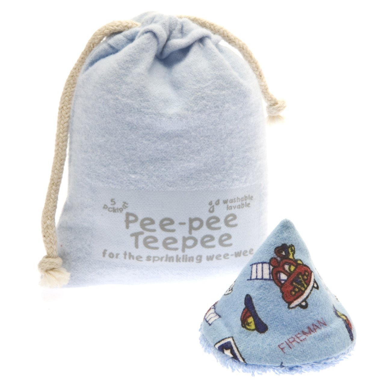 Pee-pee Teepee Fishing Blue - Laundry Bag Beba Bean PT3076