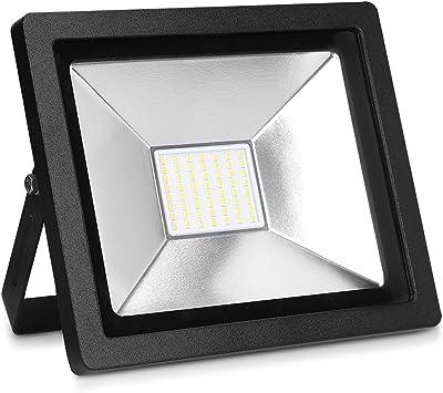 kwmobile foco proyector LED de exteriores de 30W - reflector de 2100 lúmenes para patio jardín garaje - lámpara LED para interior y exterior: Amazon.es: Bricolaje y herramientas