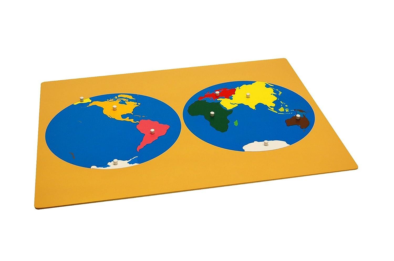 Buy montessori puzzle map of world parts w control maps online at buy montessori puzzle map of world parts w control maps online at low prices in india amazon gumiabroncs Choice Image