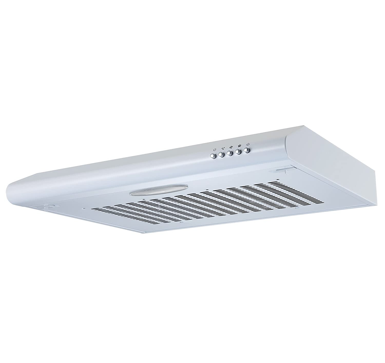 kitchen extractor fan. Cookology VISOR600WH 60cm Visor Cooker Hood In White | Kitchen Extractor Fan: Amazon.co.uk: Large Appliances Fan O