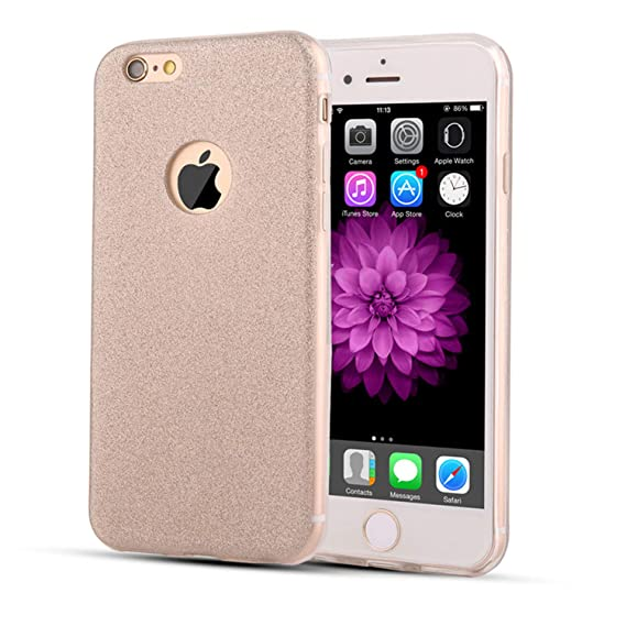 Amazon.com: Glitter Bling Case for iPhone 7 Case Glitter ...