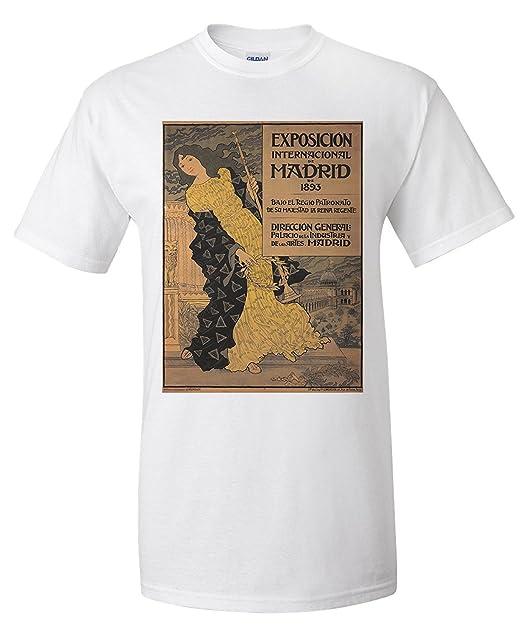 Exposicion Internacional de Madrid Vintage Poster (artist: Grasset, Eugene) France c.