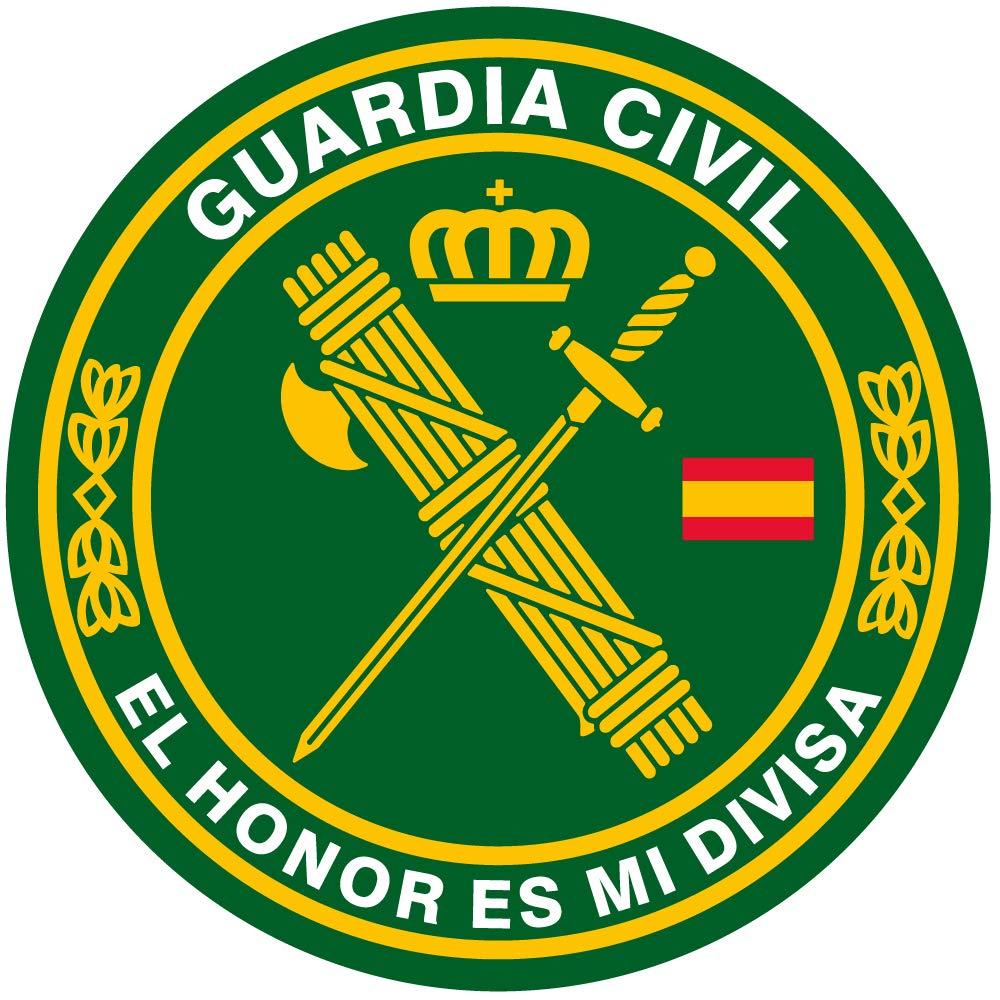 Artimagen Pegatina círculo Guardia Civil El Honor es mi divisa ø 50 mm/ud. Ediciones Imagina S.L.