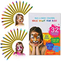 ThinkMax Pintura Cara Niños, 32 Colori Pittura Facciale