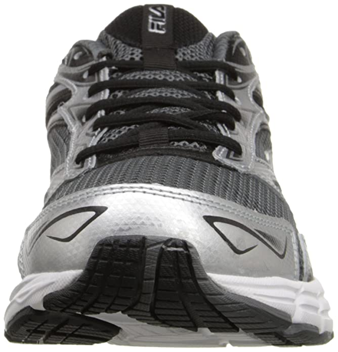 Amazon.com | Fila Men's Royalty-m Running Shoe, Castlerock/Metallic  Silver/Black, 8 M US | Shoes