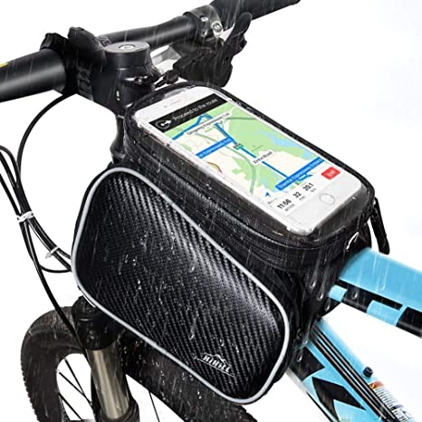 Bolsa de Bicicleta, Hihill Bolsa Manillar Bicicleta, Impermeable y ...