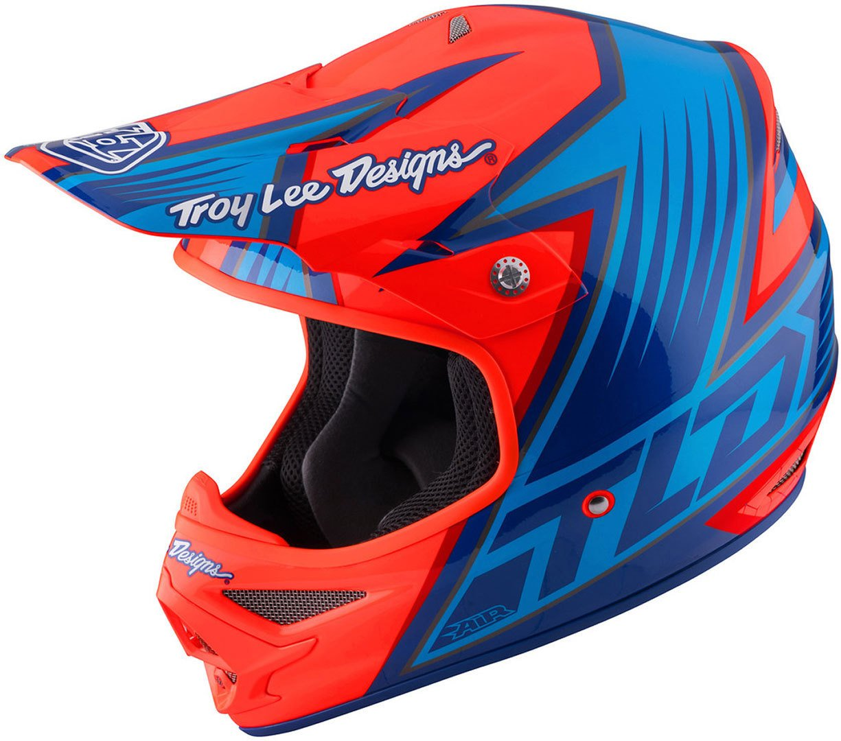 Amazon.es: Casco Mx Troy Lee Designs 2017 Air Vengeance Anaranjado (L, Anaranjado)