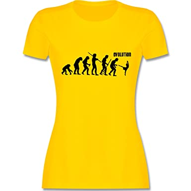 Evolution - Modern Dance Evolution - S - Gelb - L191 - Damen T-Shirt