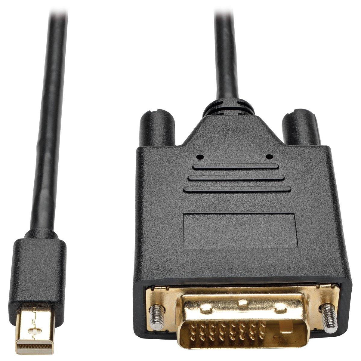 Tripp Lite Mini DisplayPort to DVI Active Adapter, MDP 1.2, MDP to DVI (M/M), MDP2DVI, 1080p, 6 ft. (P586-006-DVI-V2)