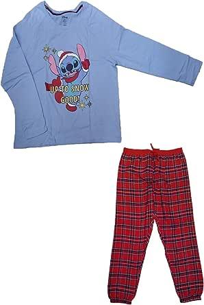 Lilo and Stitch Pijama para Mujer, Conjunto de Pijama de ...