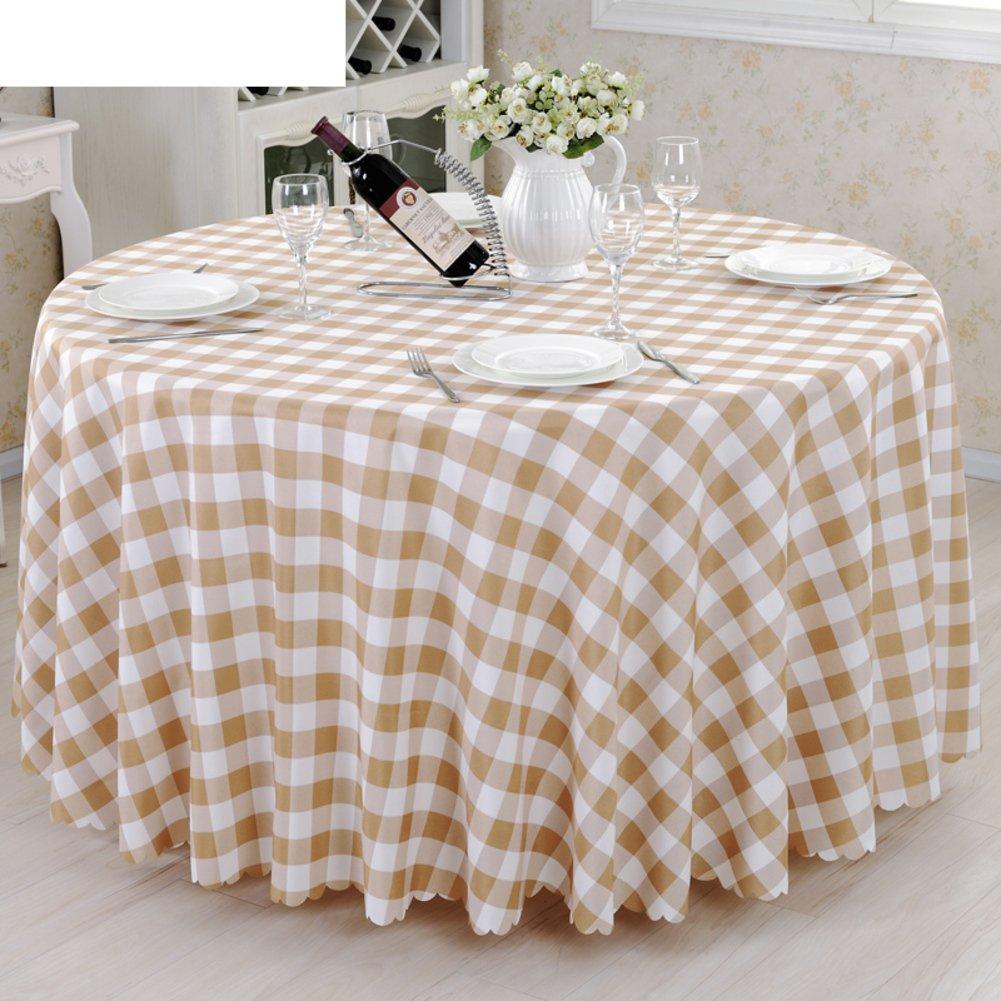DE European Style karo Hotel tischtuch,Fabric Fashion Tea Tisch Cloth tischtuch-B Durchmesser280cm(110inch) B 120180cm