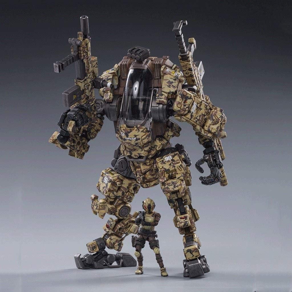 CQ Figura de acción Militar del ejército, de Acero del Hueso Ataque de Mecha H03 (Francotirador Mech) 1/25 Escala de Figuras Colección Moderna Modelo Militar Toys: Amazon.es: Juguetes y juegos