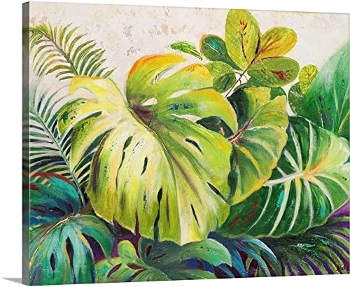 Mystic Garden I Canvas Wall Art Print