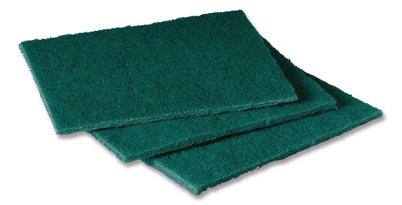 Scotch-Brite 105 General Purpose Scouring Pad, 6'' Length x 4-1/2'' Width, Green (Case of 40) by Scotch-Brite