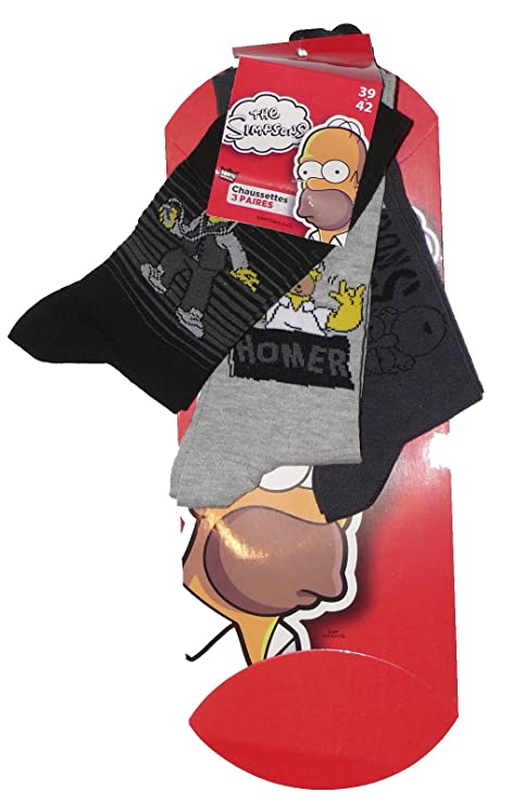 Calcetines Homer Simpson con caja regalohttps://amzn.to/2DYdeJi