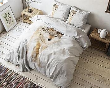 Bettwäsche Bettbezug Für Verliebte Des Große Kälte Aus 100