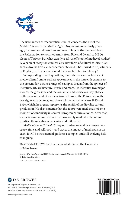 Amazon | Medievalism: A Critic...