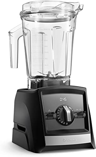 Vitamix A2500 Ascent Series Smart Blender, Professional-Grade, 64 oz. Low-Profile Container, Black Renewed