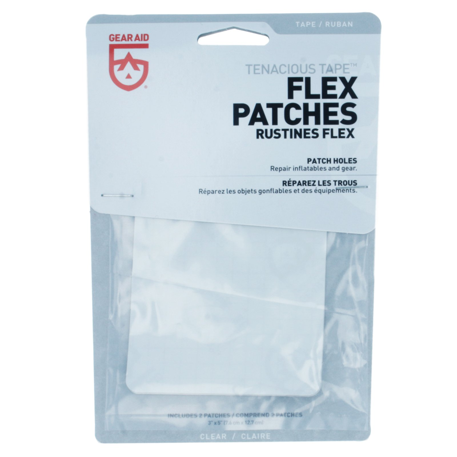 Gear Aid McNett Tenacious Tape Max Flex Repair Patches Permanent (3-Pack)