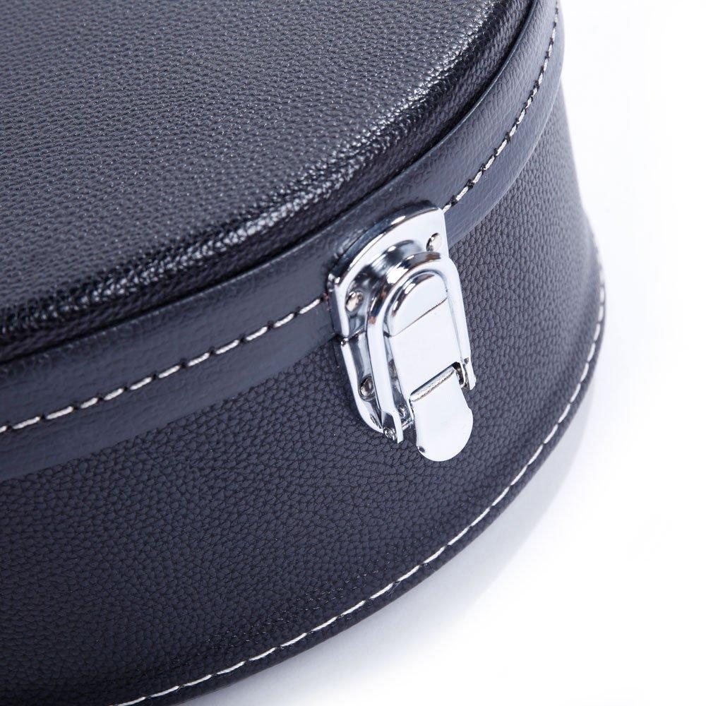 Mandolin Hard Shell Case A-Style Microgroove Pattern Leather Portable Mandolin Case