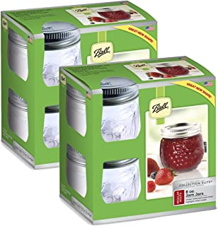 product image for Ball Collection Elite Half-Pint 8 oz Regular Mouth Jam Jars (8-Count)