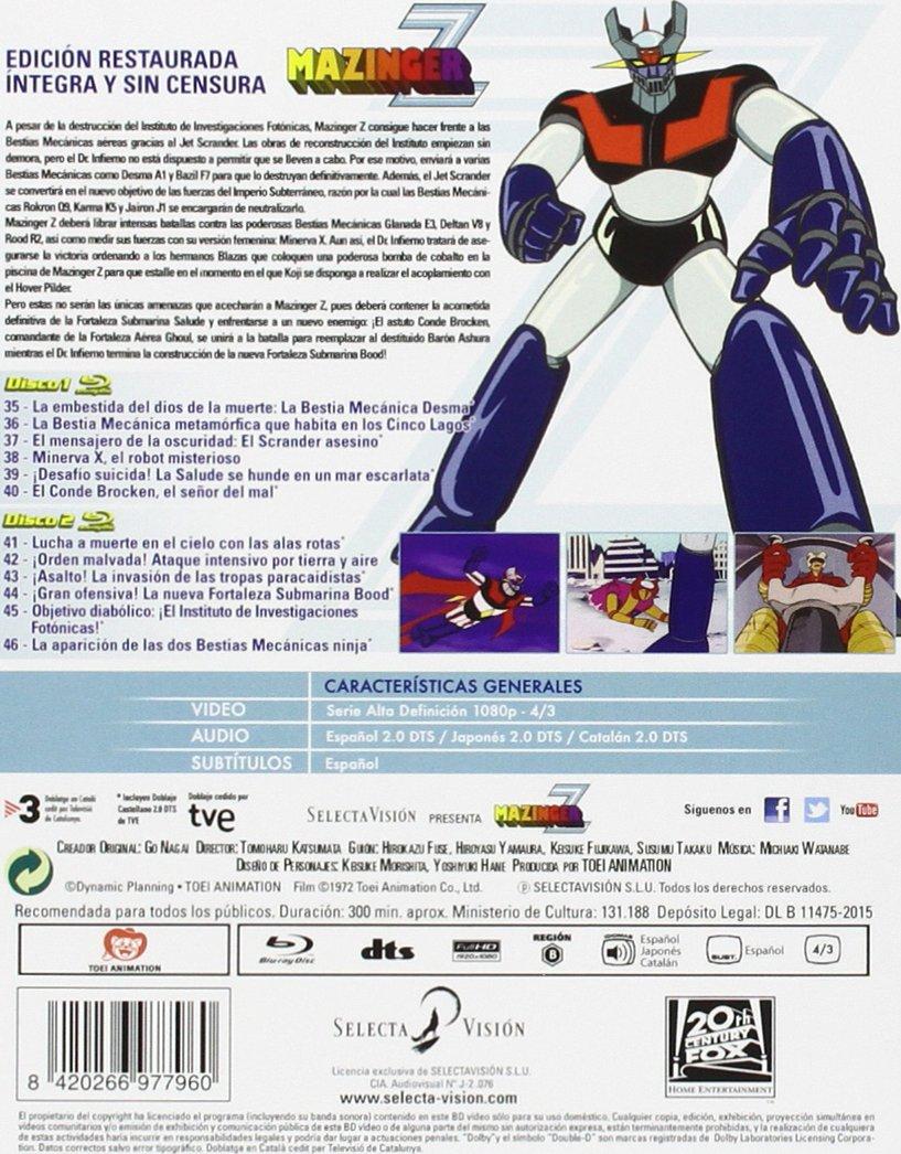 Amazon.com: Mazinger Z - Box 4: Movies & TV