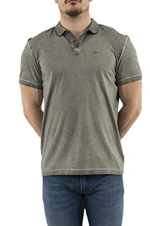 Lee Cooper - Polo - para Hombre Gris L: Amazon.es: Ropa y accesorios
