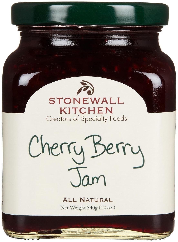 Stonewall Kitchen Cherry Berry Jam, 12 Ounces