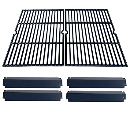 Direct store Parts Kit DG232 Replacement Charbroil, Kenmore, Coleman,Gas  Grill Repair Kit Heat Plates & Cooking Grill (Porcelain Steel Heat Plate +