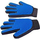 "Derosen Premium Pet Grooming Deshedding Gloves - 1 Pair - You and Your Pet Deserve The Very Best -""Long Short Big or…"