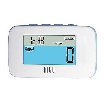 Hito 3d Sensor de movimiento impermeable podómetro W/Pantalla LCD multifunción de colores, Pinza